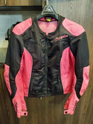 Scorpion EXO women's motorcycle jacket for Sale in Raleigh, NC