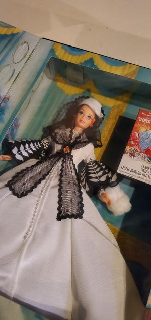 BARBIE Hollywood Legends Collection SCARLETT O'HARA Gone With The Wind DOLL NEW for Sale in Redford Charter Township, MI