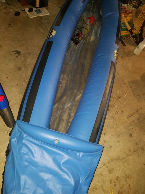Quest Canoe 350lb, Paddle,inflator,nocushions,