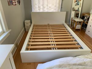 White IKEA Bed Frame Full for Sale in Seattle, WA