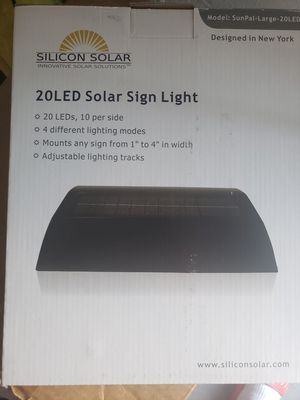 Solar panel for real estate sign for Sale in Bradenton, FL