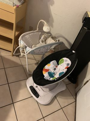 4mom, safety 1st car seat, bouncer, changing table, rocker for Sale in Tucson, AZ