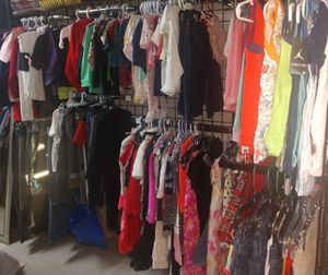Kids baby Children's clothes all sizes boys girls dresses shorts shirts $1 each for Sale in Hyattsville, MD