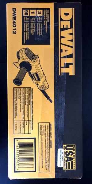 Dewalt grinder for Sale in Los Angeles, CA