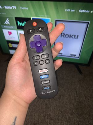 TCL ROKU TV for Sale in St. Petersburg, FL