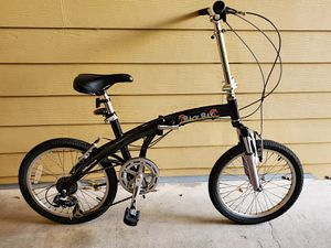 7 speed Adult Foldable Bike 20 inch 🚲💨👍 for Sale in Issaquah, WA