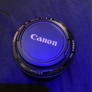 Cannon 50mm Lens for Sale in Woodbridge, VA