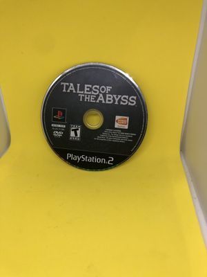 Tales of the Abyss Sony Playstation 2 Video Game ps2 Only disc for Sale in Decatur, GA