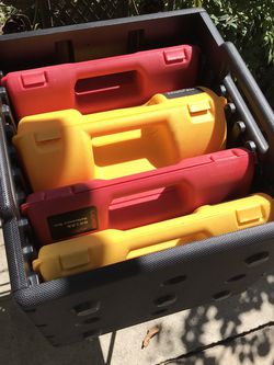Hard shell plastic tool cases and crate for Sale in Brea,  CA