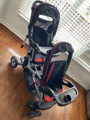Baby Trend Sit N Stand Plus Double Stroller, Millennium for Sale in Alsip, IL