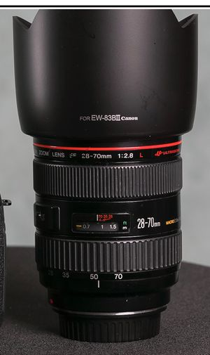 Canon 24-70mm and 28-70mm F2 for Sale in Elk Grove Village, IL