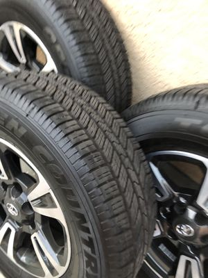 Tacoma Trd rims and wheel BRAND NEW $900 for Sale in Long Beach, CA