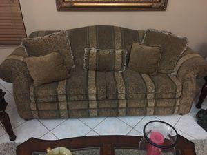 Elegant sofa loveseat and chair for Sale in El Cajon, CA