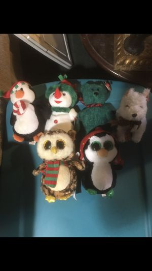 Christmas beanie baby set for sale for Sale in Toms River, NJ