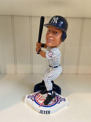 NY Yankees 100th Anniv. Stadium Exclusive Derek Jeter Bobble Head for Sale in Locust, NJ