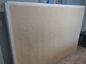 Queen size boxspring and Frame for Sale in Issaquah, WA