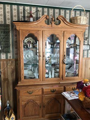 Oak Hutch for Sale in Shamokin, PA