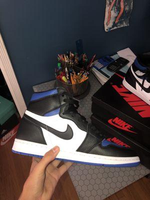 Jordan 1 royal toe size 9 for Sale in Pasadena, CA