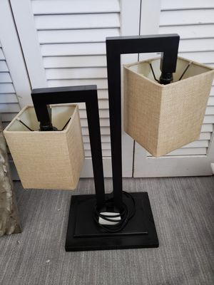 Designers Double desk lamp for Sale in Deerfield Beach, FL