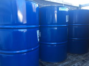 55 Gallon Drum/ Barrels. $20 with top intact. $25 with top cut off. Great for burn barrels. Local delivery is possible. for Sale in Hudson, MA
