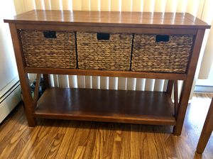 Storage Shelves with baskets (3 pieces listed) for Sale in Denver, CO