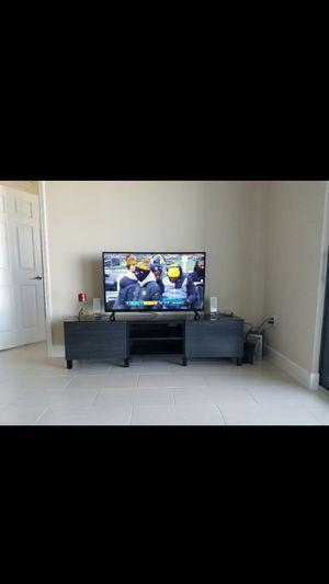 Dark Brown TV Stand for Sale in Miramar, FL