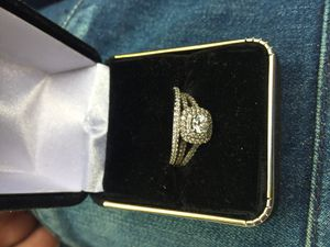 2.0 carat wedding 10k gold ring for Sale in Durham, NC