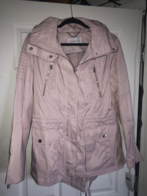 NWT BCBGeneration women's pink rain jacket sz L for Sale in Beaverton, OR