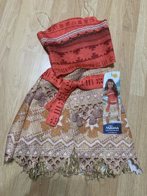 Disney Moana costume size 4-6X for Sale in Del Sur, CA