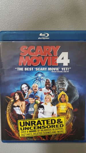 Scary Movie 4 BluRay for Sale in Los Angeles, CA