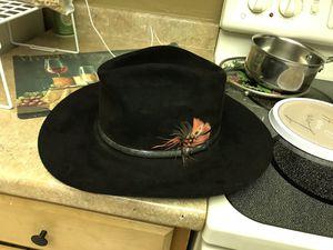 Men's RESISTOL 4 XXXX BEAVER COWBOY HAT MADE IN TEXAS for Sale in Port Charlotte, FL