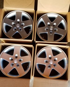 4 Jeep Wrangler Stock Rims for Sale in Imperial Beach, CA