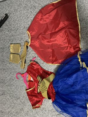 Small 4-5t Wonder Woman costume for Sale in Chicago, IL