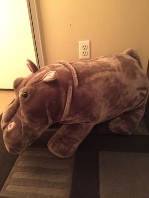 Brand new plush hippo ($70 in retail) for Sale in Brooklyn, NY