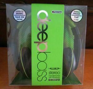 SENTRY DEEP BASS STEREO HEADPHONES for Sale in Santa Clarita, CA