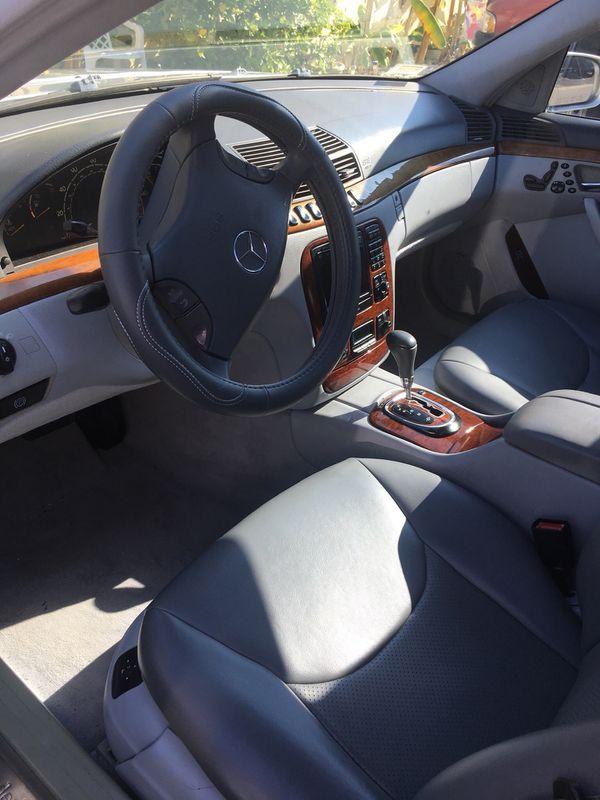 2002 Mercedes Benz s class