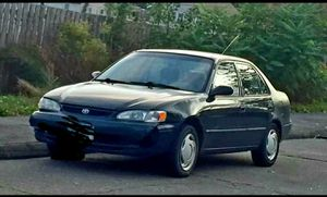FOR SALE IF STILL LISTED& $ FIRM! 1999 Toyota Corolla LE. DRIVES WELL!New tires, clutch, and muffler.STILL HERE IF LISTED! for Sale in Shelton, CT