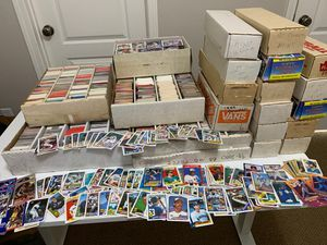 Baseball Card Collection - will take highest offer for Sale in Clovis, CA