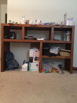 Wooden multi-shelf organizer for Sale in HOFFMAN EST, IL