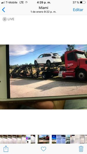 6,7 Car carrier for sale. Car hauler for sale for Sale in Miami Gardens, FL