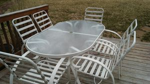 12 piece patio set aircraft aluminum grade for Sale in New Windsor, MD
