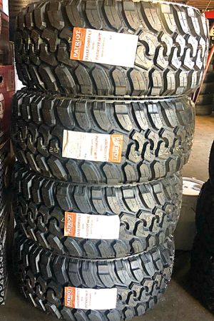 33/12.50R17 Patriot M/T tires (4 for $799) for Sale in Whittier, CA