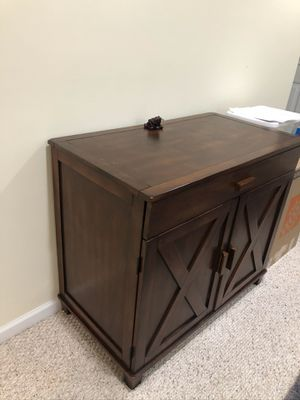 Solid wood accent chest for Sale in McLean, VA