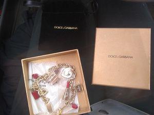 dolce & gabbana charm bracelet. Brand new still in wrapper for Sale in Little Rock, AR