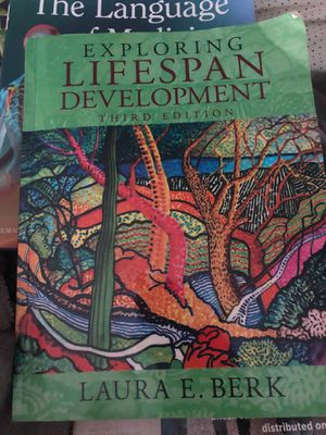 Exploring lifespan development 3rd edition for Sale in Portland, OR