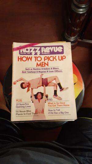 Vintage Magazine. RAZZ REVUE for Sale in Apache Junction, AZ