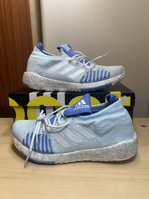 SZ 6 Adidas Pulseboost HD EF1358 Women's Size US 6 Ultraboost Pureboost Blue Tint for Sale in Carol Stream, IL