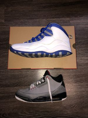 Jordan 10 and Jordan 3 for Sale in Iowa City, IA
