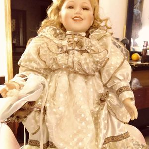 Vintage Porcelain Doll for Sale in Lexington, SC