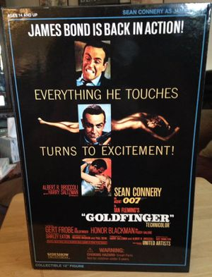 "Sideshow Collectible James Bond ""GOLDFINGER"" Action Figure 12"" MIB for Sale in Crofton, MD"